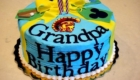 Happy Birthday Cake Wish Wonderful Grandfather