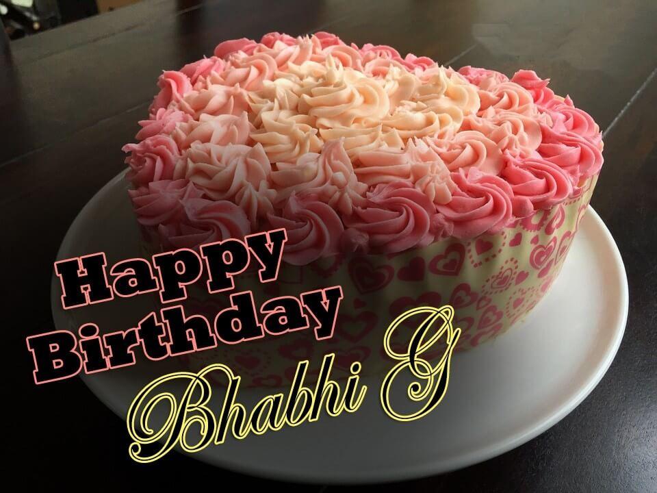 Happy Birthday Bhabhi Cake
