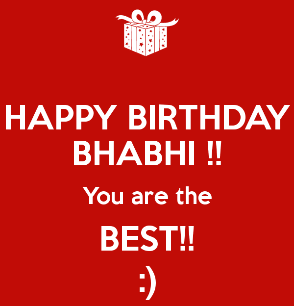 Happy Birthday Bhabhi Status