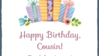 Happy Birthday Gift Wishes for Cousin