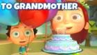 Happy Birthday Grandma Cake from Kids