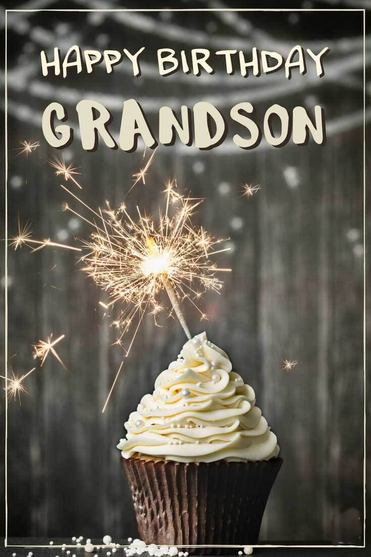 Happy Birthday Grandson Muffin