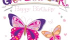 Happy Birthday Great Granddaughter Butterfly