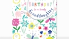 Happy Birthday Greeting Card for Granddaughter
