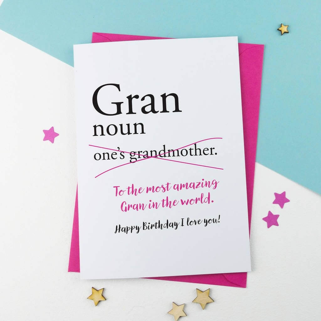 Happy Birthday Greeting Cards for Grandmother