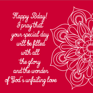 Happy Birthday Messages Greeting Card