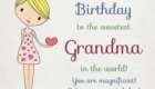 Happy Birthday Quotes for Grandmother