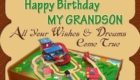 Happy Birthday Toy Grandson