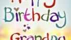 Happy Birthday Wish Grandpa