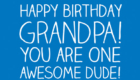 Happy Birthday Wishes for Grandfather