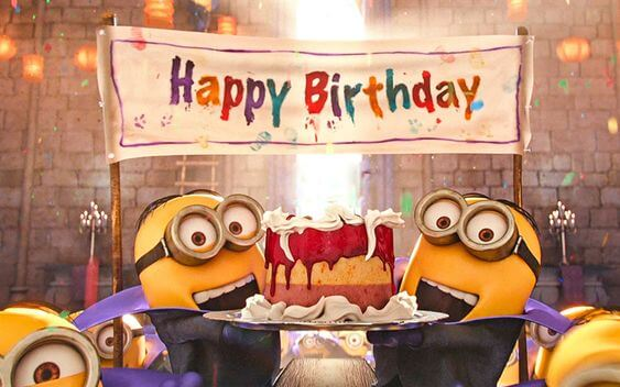 Happy Birthday Wishes Minions