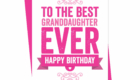 Happy Birthday Wishes to Best Granddaughter