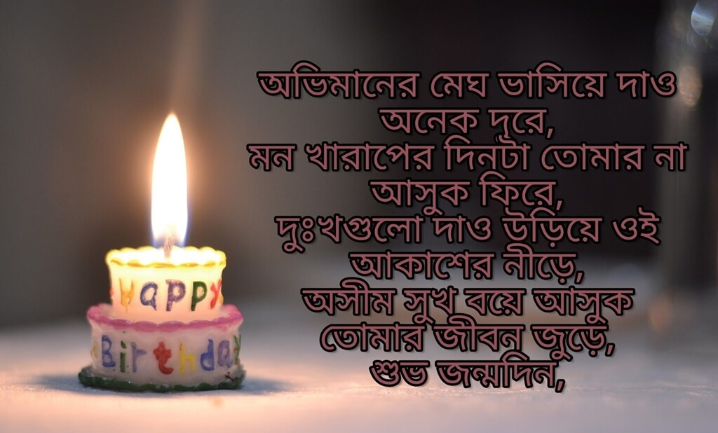 Happy Birthday Wishes in Bengali Quotes