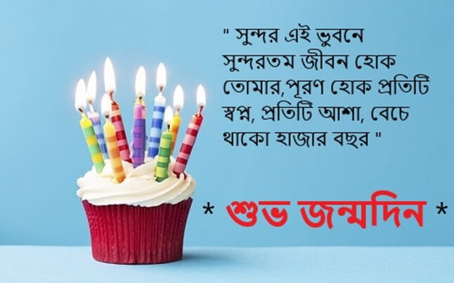 Happy Birthday Wishes in Bengali