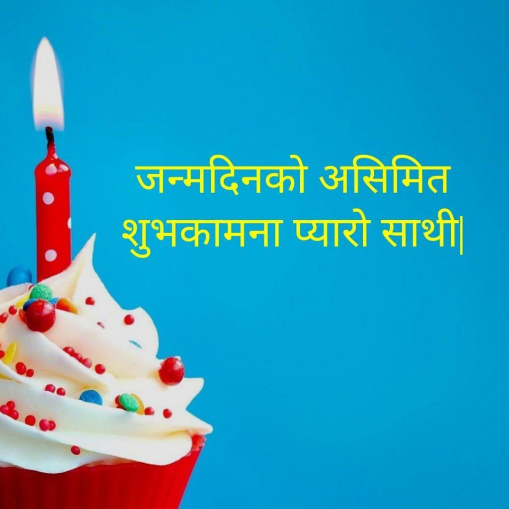 Happy Birthday Wishes In Nepali Pudding