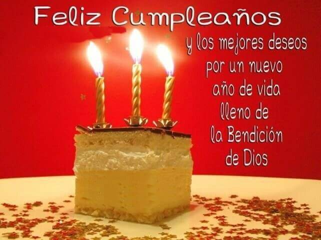 Happy Birthday Wishes in Spanish Candles