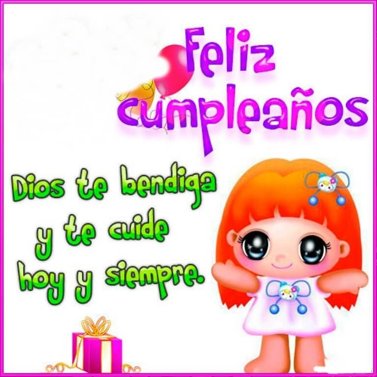 Happy Birthday Wishes in Spanish Greeting Card