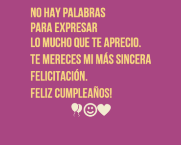 Happy Birthday Wishes in Spanish SMS