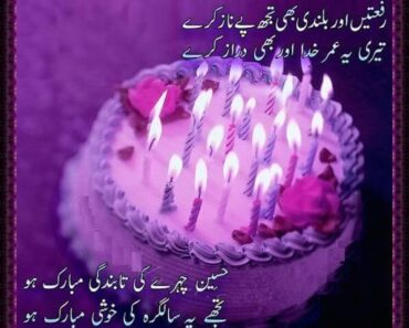 Happy Birthday Wishes in Urdu