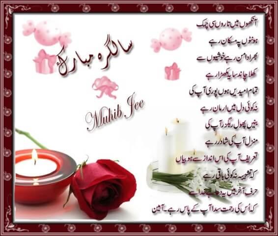 Happy Birthday Wishes in Urdu Status