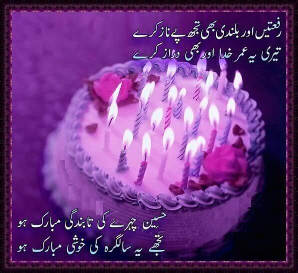 Happy Birthday Wishes in Urdu