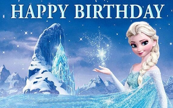 Frozen Happy Birthday Wishes Elsa
