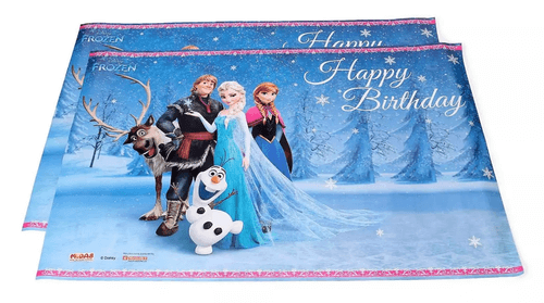 Frozen Happy Birthday Wishes Template