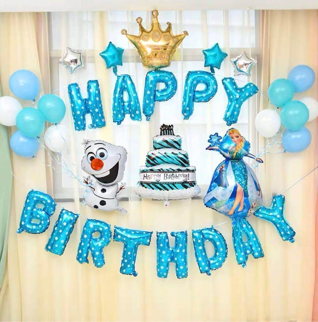 Frozen Happy Birthday Wishes