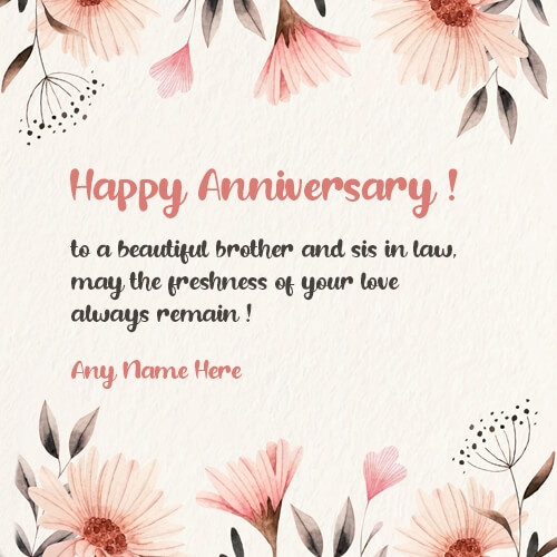 Happy Anniversary Wishes for Bhaiya & Bhabhi Status