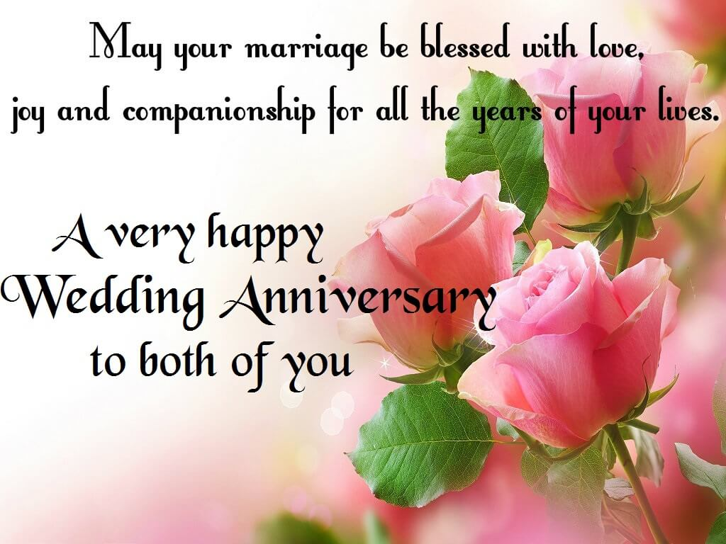 Happy Anniversary Wishes for Bhaiya & Bhabhi Flowers