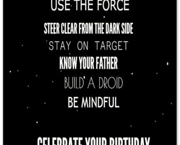 Happy Birthday Wishes Star Wars