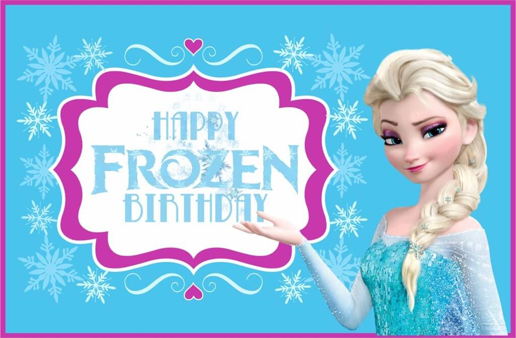 Happy Frozen Birthday Wishes