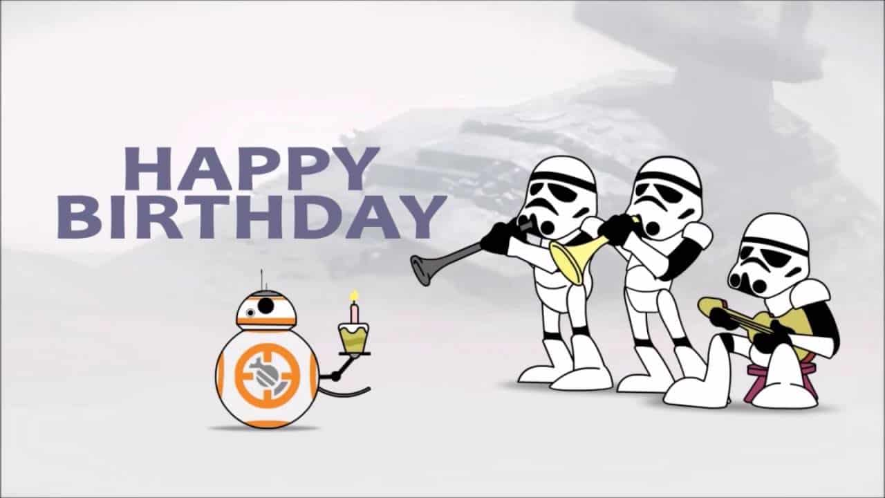 Star Wars Happy Birthday Wishes Messages