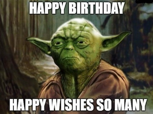 Star Wars Happy Birthday Wishes Yoda