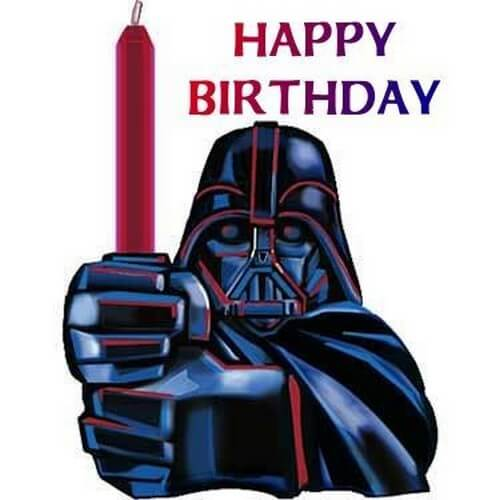 Star Wars Happy Birthday Wishes