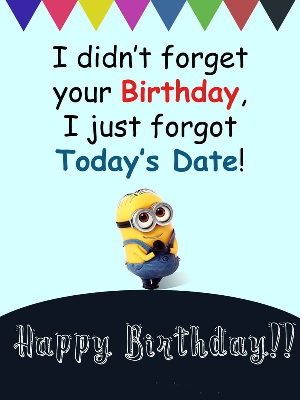 Minions Happy Birthday Wishes Quotes