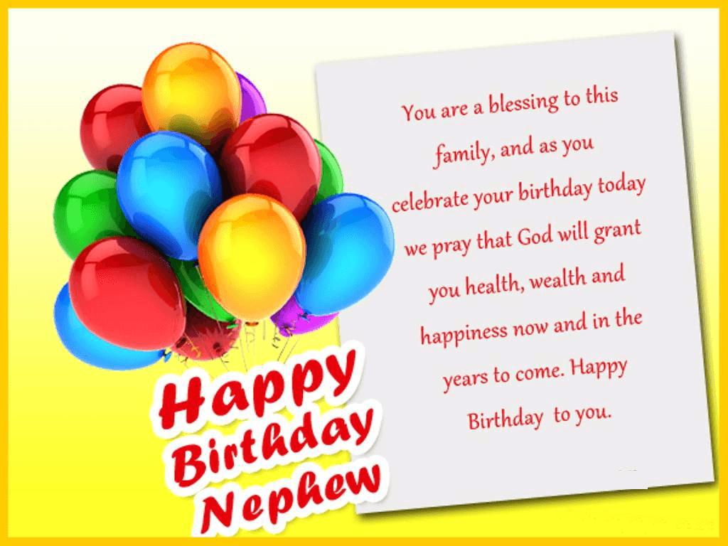 Happy Birthday Nephew Balloons
