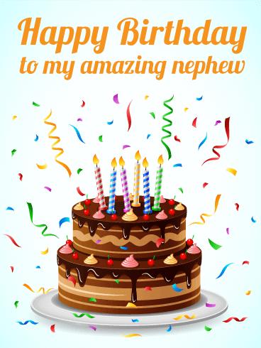Happy Birthday Nephew Cake
