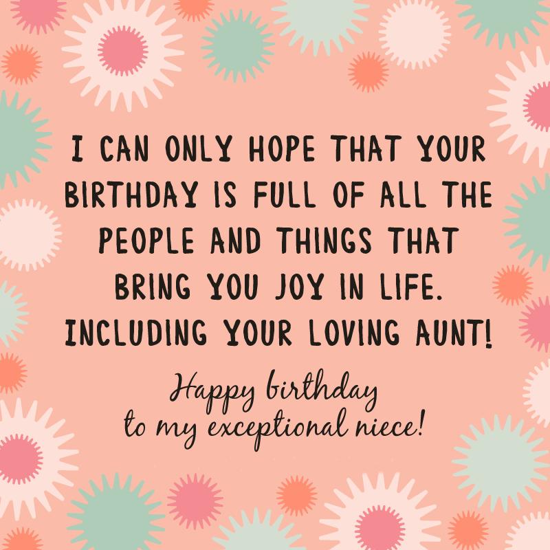 Happy Birthday Niece Cake Greeting Card