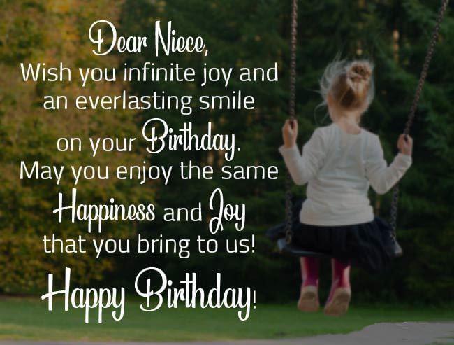 Happy Birthday Niece Cake Quotes