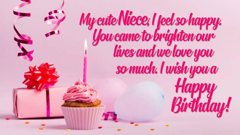 Happy Birthday Niece Pudding