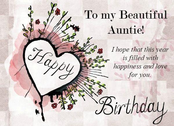 Happy Birthday Aunt Flowers