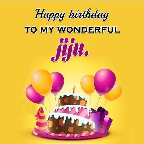 Happy Birthday Jiju Card