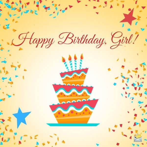 Happy Birthday Wishes for Customer Girl