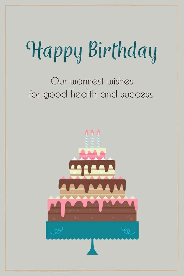 Happy Birthday Wishes for Customer Image