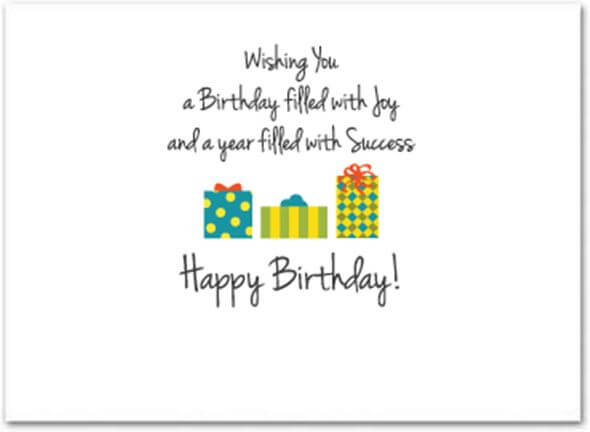 Happy Birthday Wishes for Customer Quotes