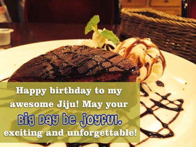 Happy Birthday Wishes for Jiju Joy