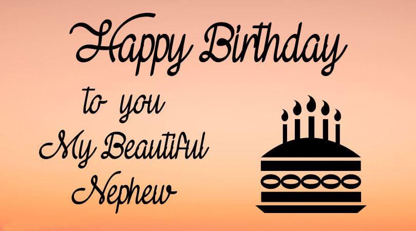 Happy Birthday Wishes for Nephew Cake
