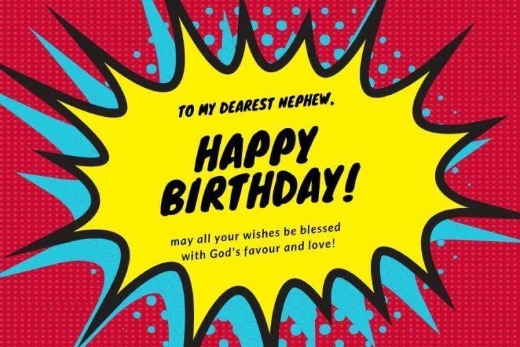 Happy Birthday Wishes for Nephew