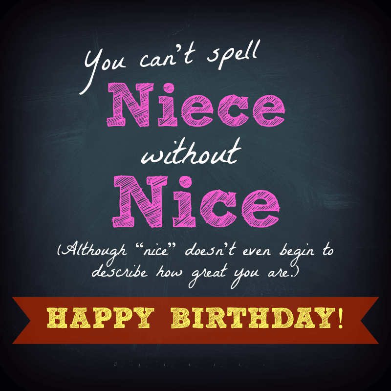 Happy Birthday Wishes for Niece Status